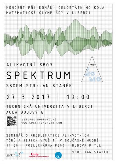Alikvotní sbor Spektrum - koncert 27.3.2017