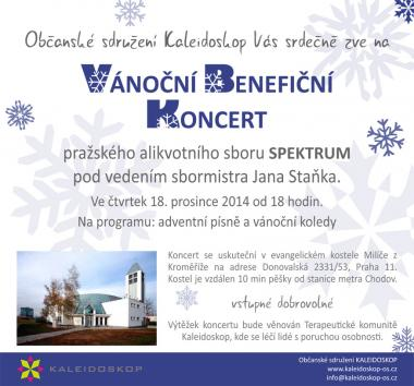 Overtone choir Spektrum - invitation 18.12.2014