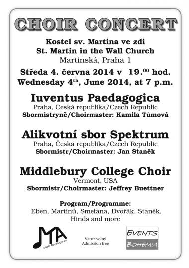 Overtone choir Spektrum - invitation to concert 4.6.2014