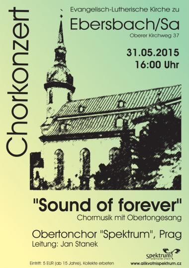 Overtone choir Spektrum - invitation to concert 31.5.2015