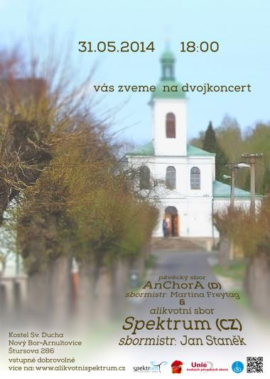 Invitation to concert 31.5.2014 - Overtone choir Spektrum and AnChorA