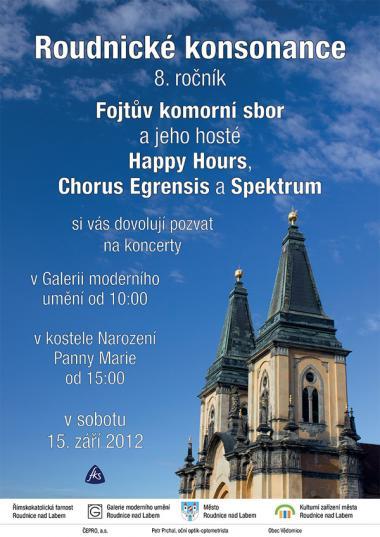 Alikvotní sbor spektrum, pozvánka 15.9.2012