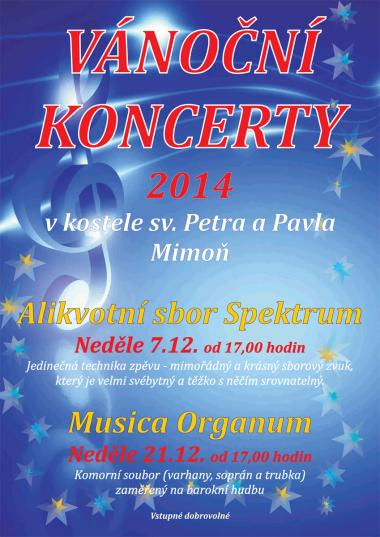 Overtone choir Spektrum - invitation to concert 7.12.2014