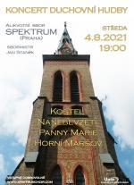 Pozvánka na koncert 4.8.2021 - Alikvotní sbor Spektrum