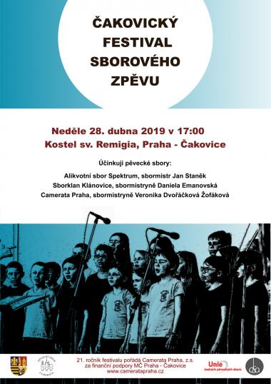 Pozvanka na koncert, Alikvotní sbor Spektrum 28.4.2019