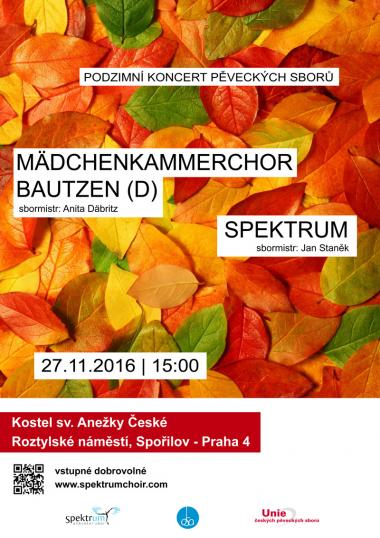 Koncert Spektrum 27.11.2016